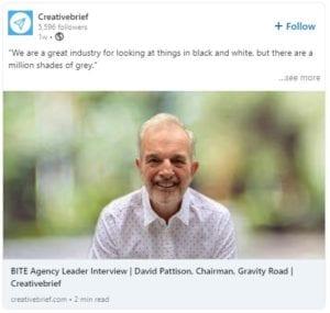 David Pattison raising capital for small business